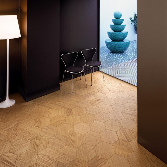Bisazza Wood Esagono Naturale (E) 202X223