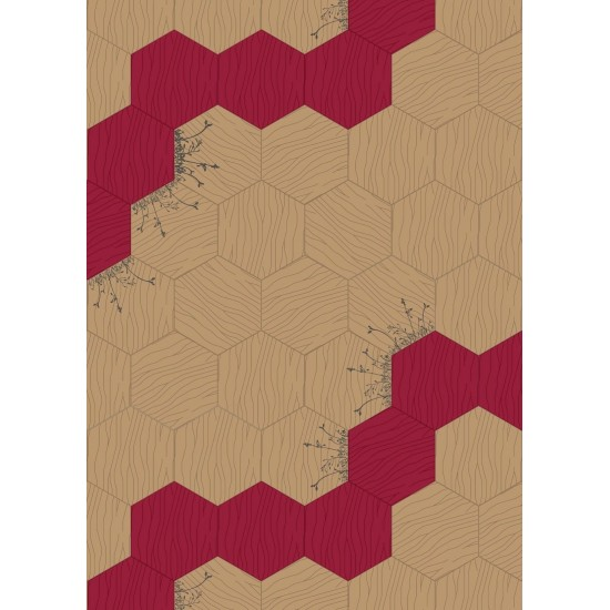 BISAZZA WOOD PATH GRAPHIC