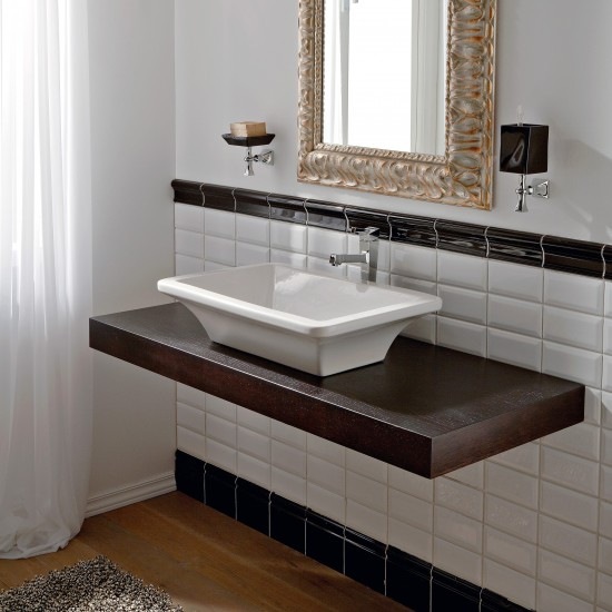 BUTTERFLY SCARABEO  Lay-on washbasin 60X40
