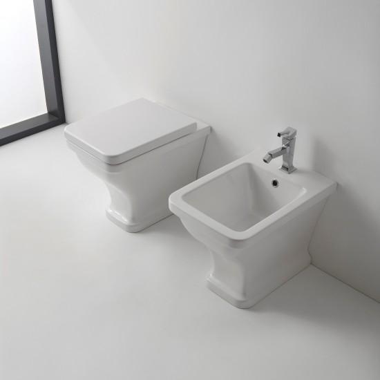 BUTTERFLY SCARABEO FLOOR WC
