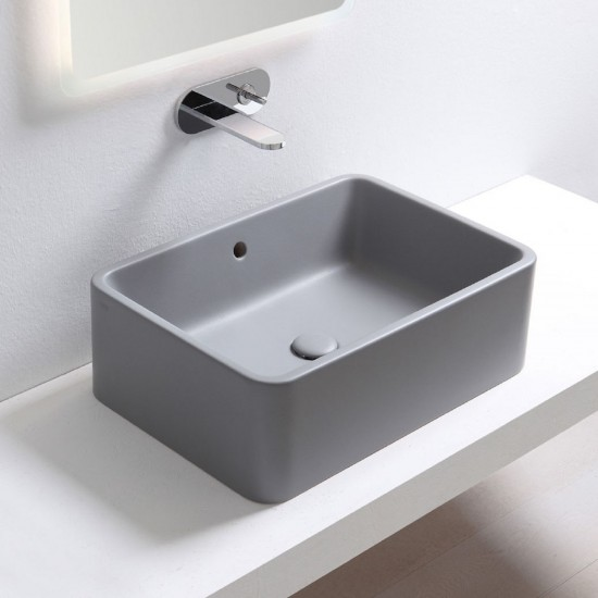 CIELO SHUI ON TOP RECTANGULAR WASHBASIN