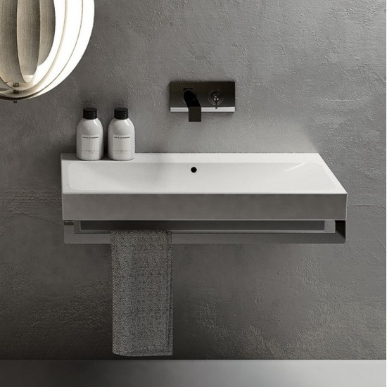 CIELO SMILE SQUARE WASHBASIN