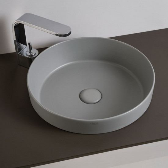 CIELO ENJOY SEMIRECESSED ROUND WASHBASIN