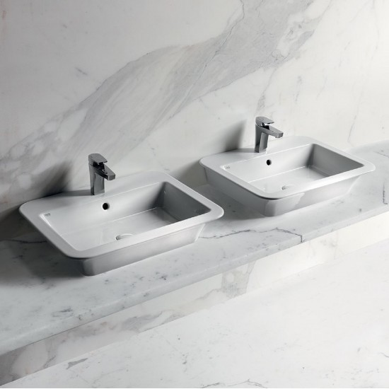 CIELO OPERA WASHBASIN 64 WITH TAP HOLE