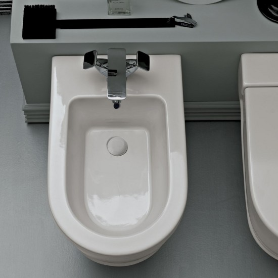 CIELO OPERA WALL-HUNG ONE HOLE BIDET