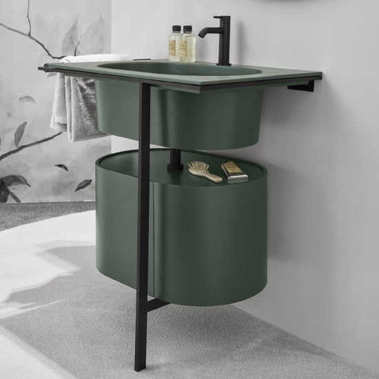 CIELO MULTIPLO WASHBASIN WITH CABINET