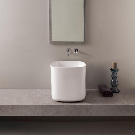 MOON SCARABEO 42H40 Lay-on washbasin