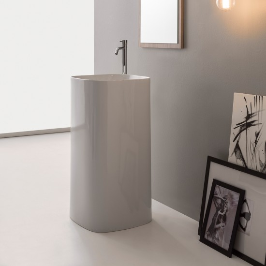 MOON SCARABEO Floor-standing washbasin