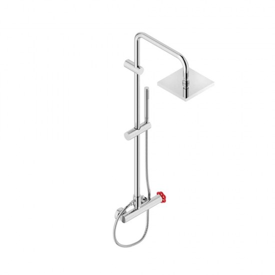 NEVE VOLARE WALL-MOUNTED SHOWER