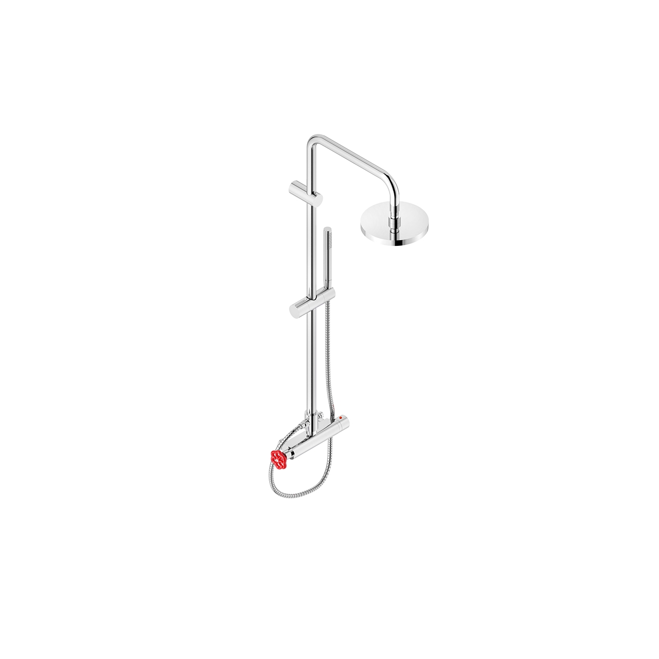 NEVE VOLARE WALL-MOUNTED THERMOSTATIC  SHOWER