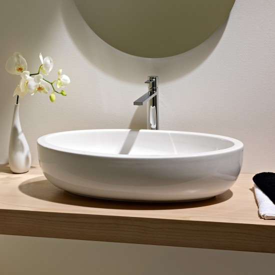 PLANET SCARABEO Lay-on washbasin 66X39