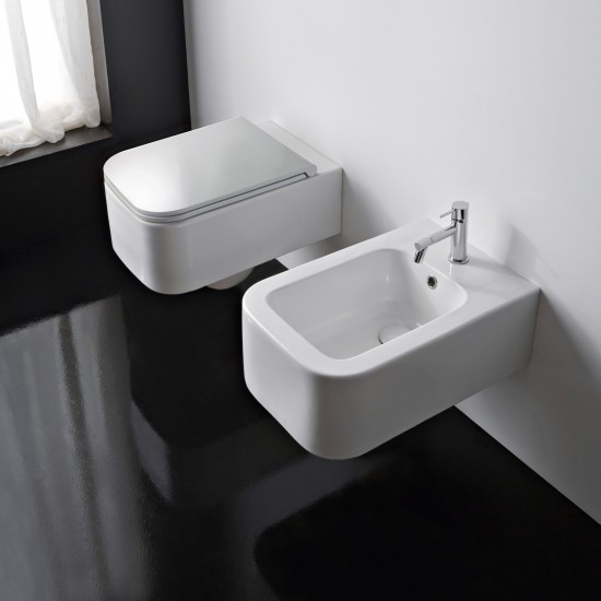 NEXT SCARABEO Wall-mounted bidet