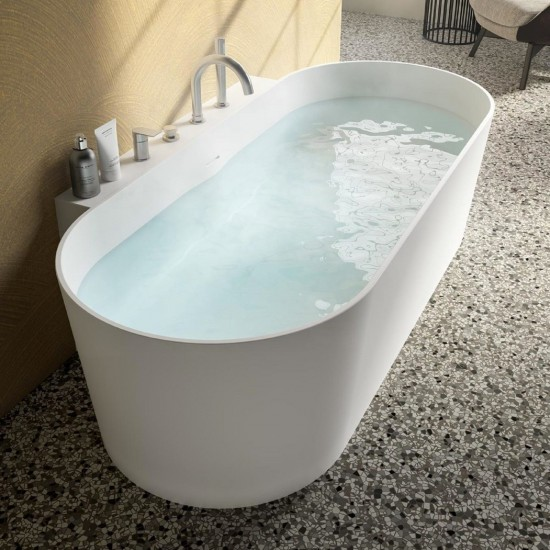 ALBATROS THEA WALL BATHTUB