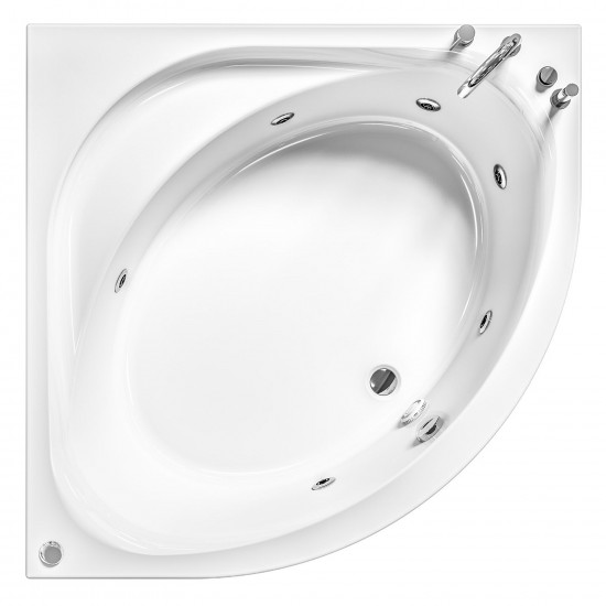 ALBATROS IDEA 140 WHIRLPOOL BATHTUB