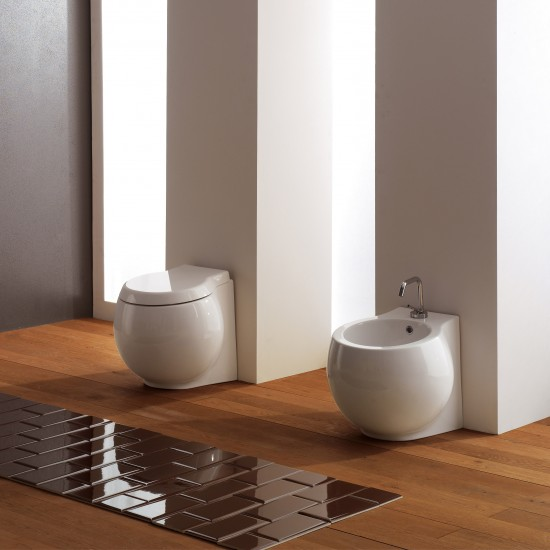 PLANET SCARABEO FLOOR BIDET