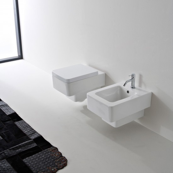 TEOREMA SCARABEO Wall-mounted WC