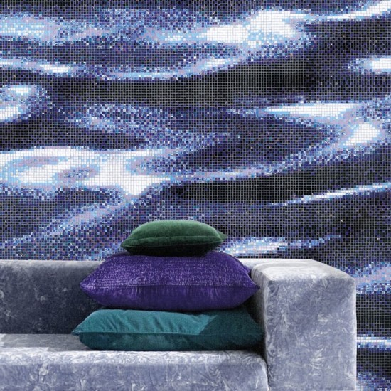 BISAZZA DECORI MODERN DARK WATER