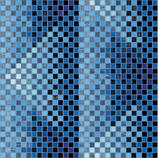 BISAZZA DECORI MODERN PYRAMID BLUE