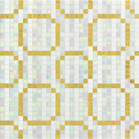 BISAZZA DECORI MODERN RINGS ORO GIALLO