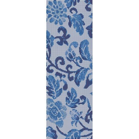 BISAZZA DECORI FLOORING SUMMER FLOWERS BLUE