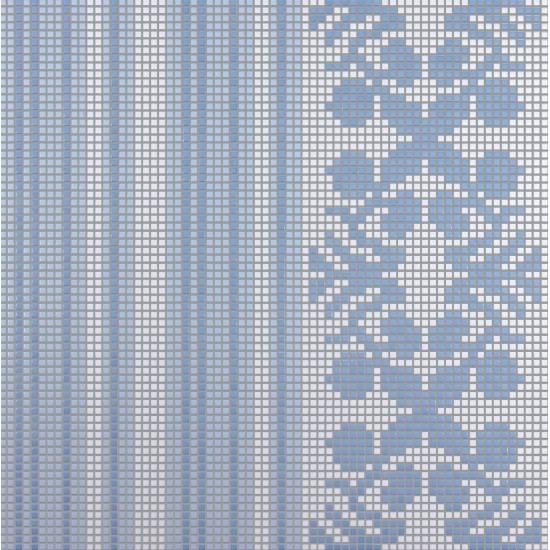 BISAZZA DECORI FLOORING WALLPAPER BLUE