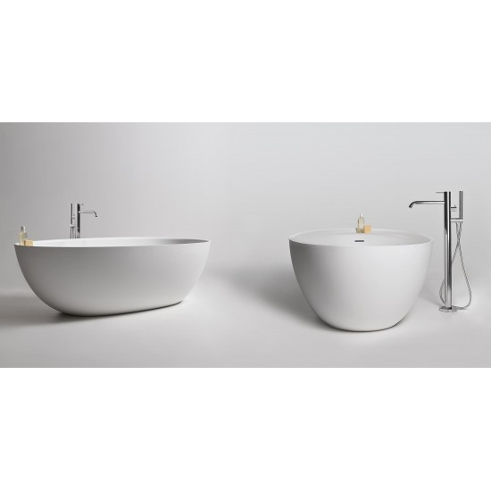 ANTONIO LUPI ECLIPSE OVAL CRISTALPLANT BATHTUB