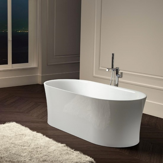 ALBATROS IDEA F OVAL BATHTUB