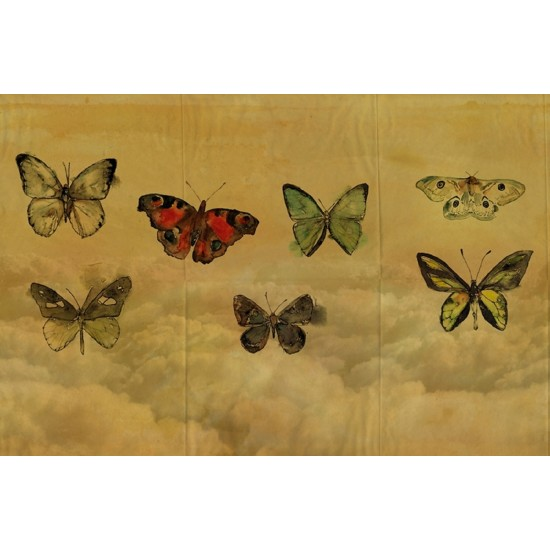 Wall & Decò BUTTERFLIES WALLPAPER