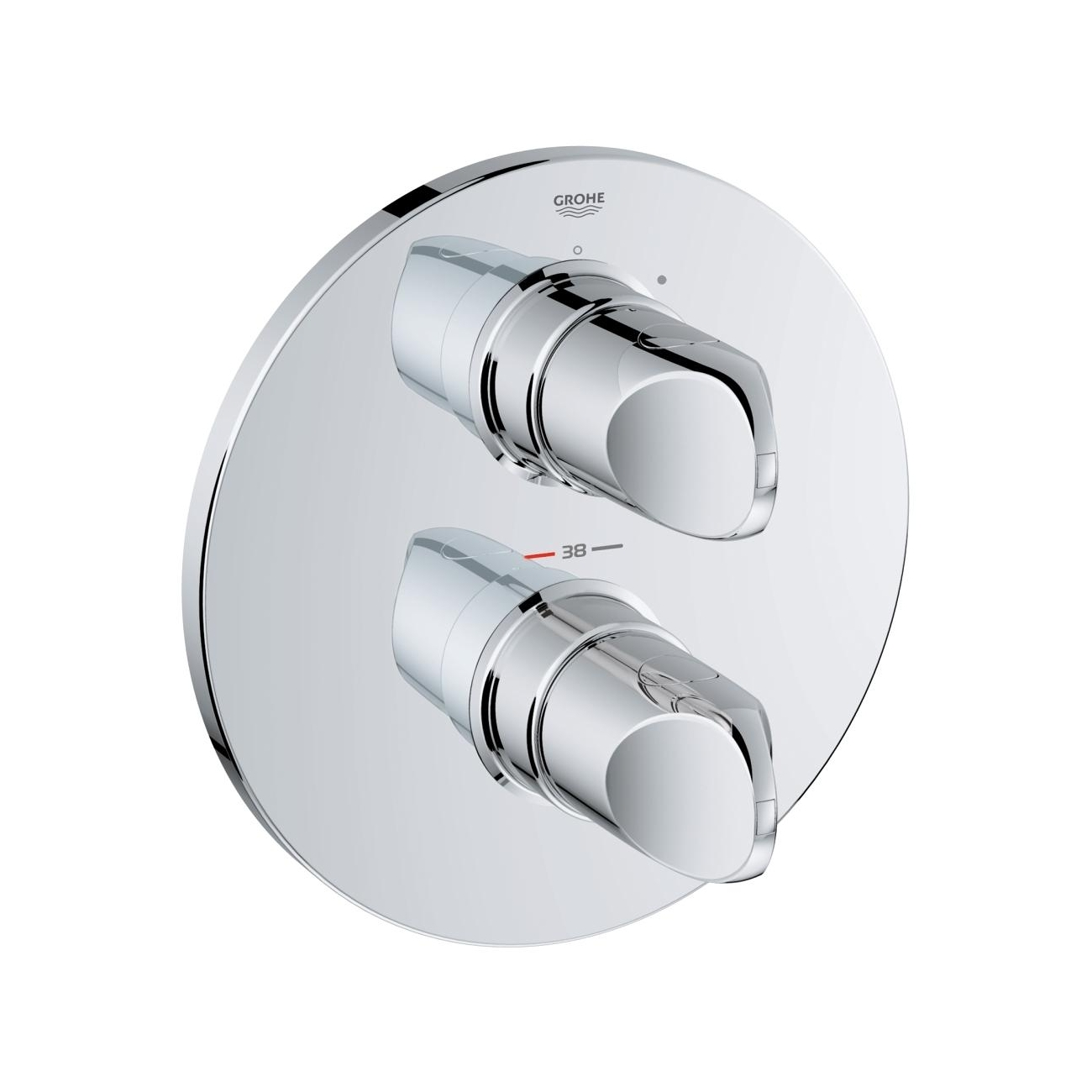 GROHE VERIS Thermostatic shower mixer - TattaHome