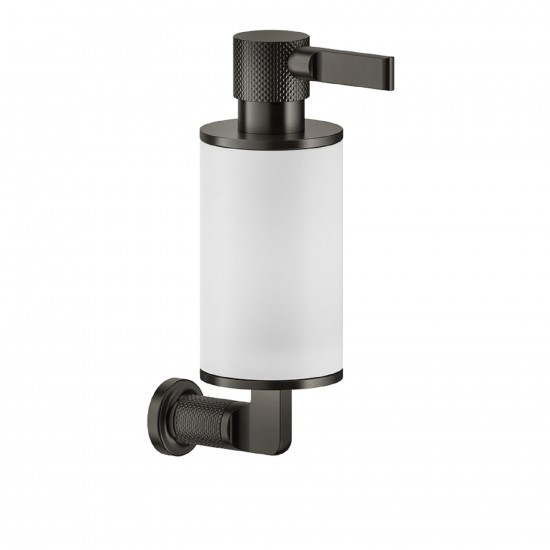 GESSI INCISO WALL MOUNTED SOAP DISPENSER HOLDER