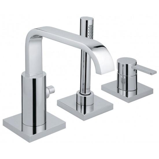 GROHE ALLURE 3-hole single-lever bath combination