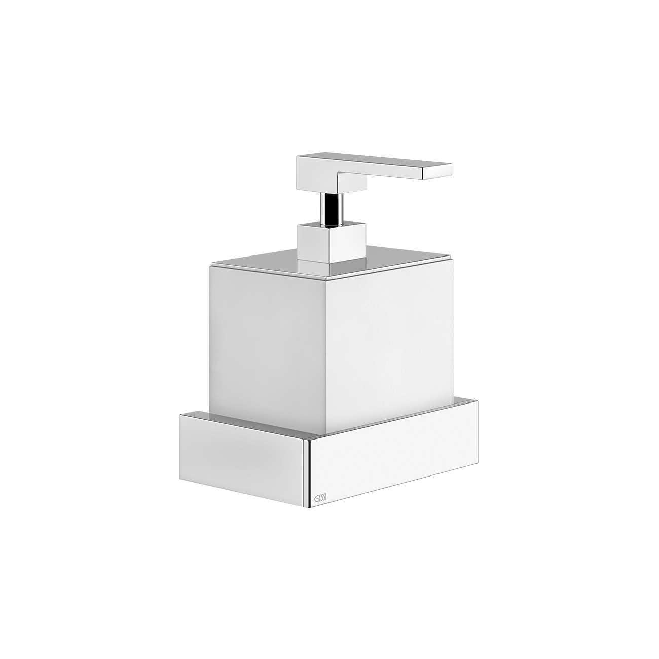 Gessi Rettangolo Wall Mounted Soap, Soap Dispenser For Bathroom Wall Mounted