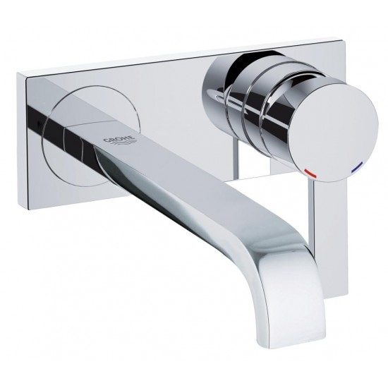 GROHE ALLURE MIX LAVABO S 2FORI A MURO 220MM