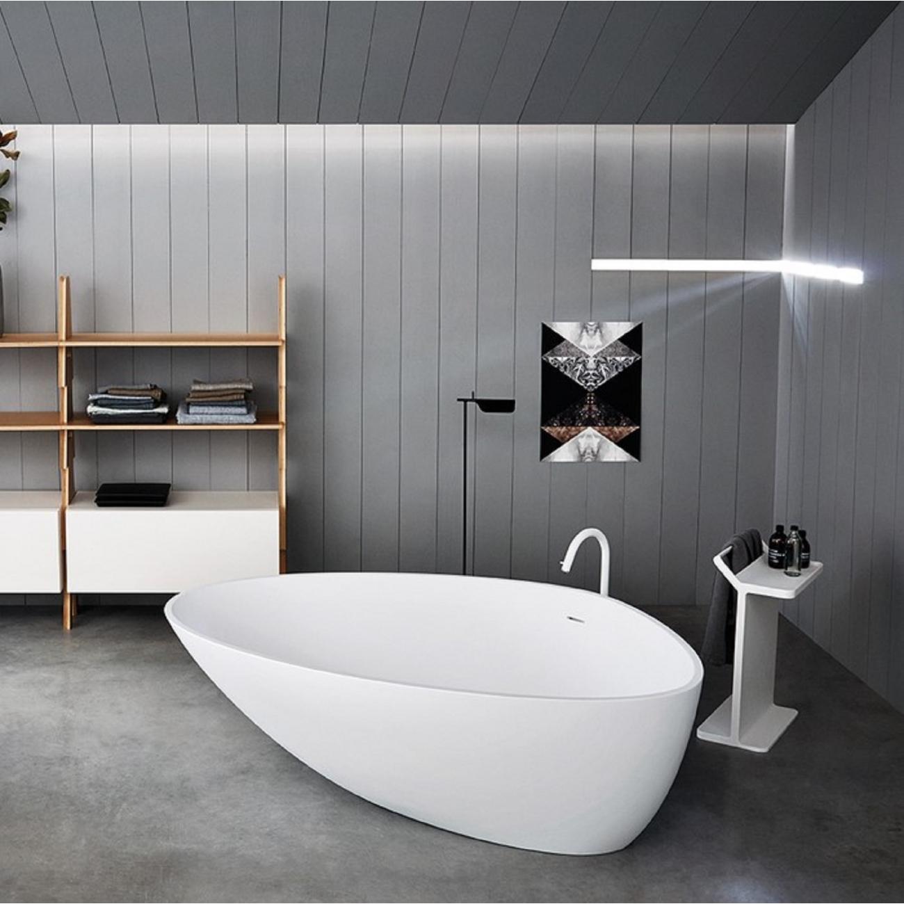 Picture of: Agape Drop Freestanding Bathtub Tattahome