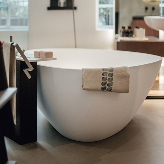 AGAPE DROP FREESTANDING BATHTUB