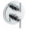 GROHE ATRIO J Thermostat with integrated 2-way diverter for shower
