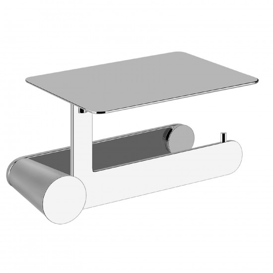 GESSI CONO WALL MOUNTED PAPER ROLL HOLDER