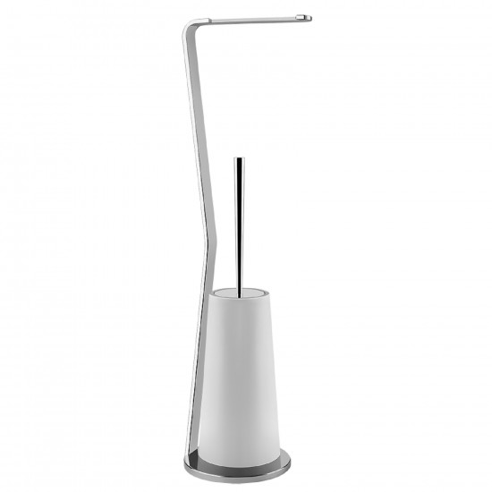 GESSI CONO STANDING SET WITH BRUSH HOLDER