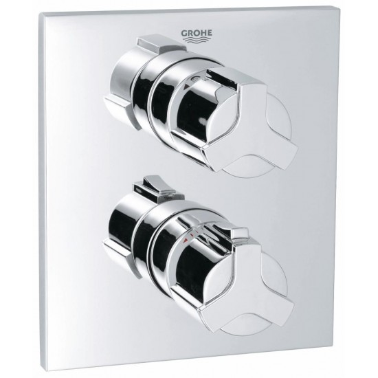 GROHE ALLURE Thermostat with integrated 2-way diverter for shower