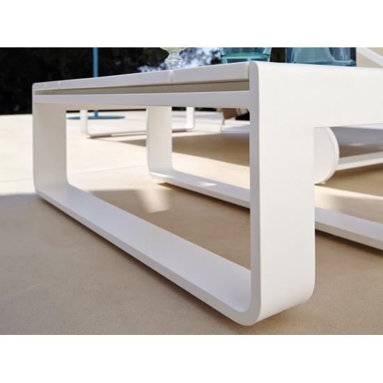 GANDIA BLASCO FLAT CHAISELONGUE TABLE