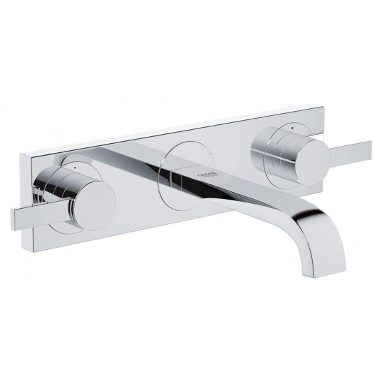 GROHE ALLURE MIX LAVABO S 3FORI A MURO 172MM