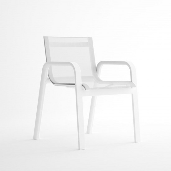 GANDIA BLASCO STACK DINING CLUB ARMCHAIR