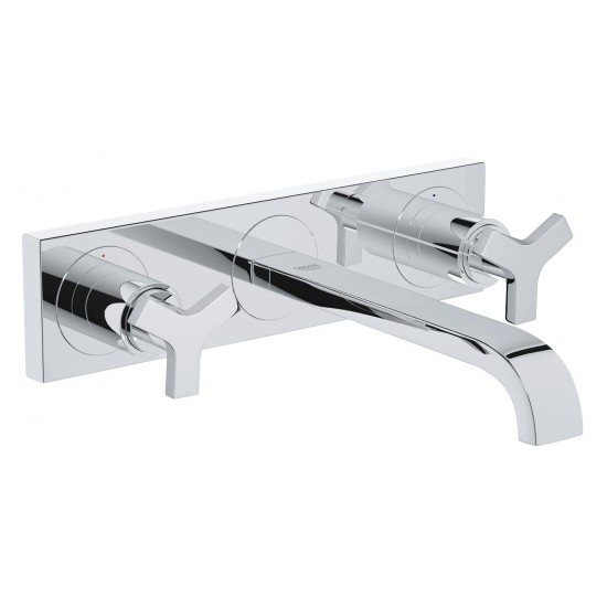 GROHE ALLURE MIX LAVABO M 3FORI A MURO 220MM