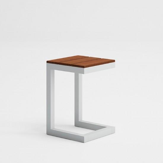 GANDIA BLASCO SALER TEAK SIDE TABLE