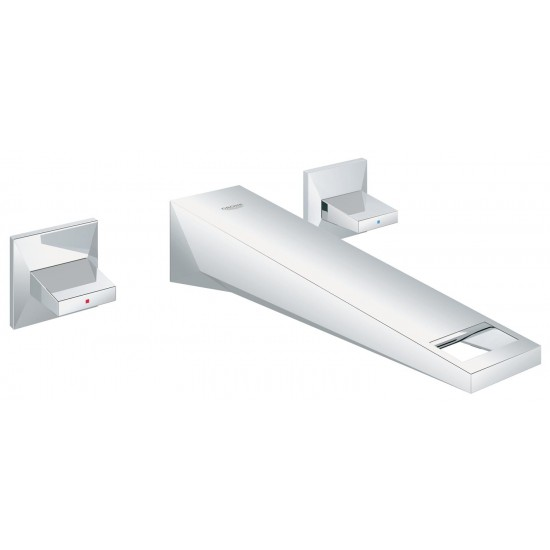 GROHE BRILLIANT WALL-MOUNTED BASIN MIXER 210MM