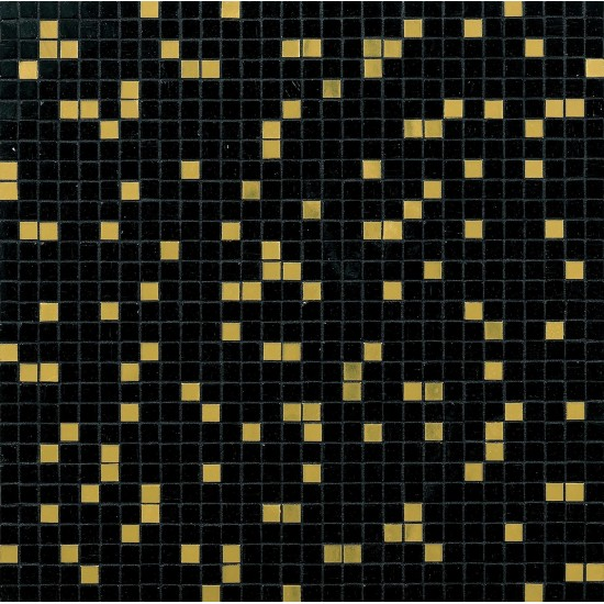 BISAZZA PRINCE BLACK GOLD BLENDS 10 MOSAICO