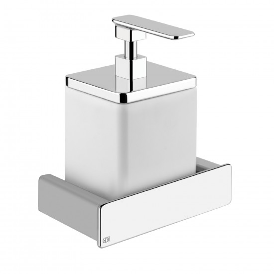 GESSI ISPA WALL MOUNTED SOAP DISPENSER HOLDER