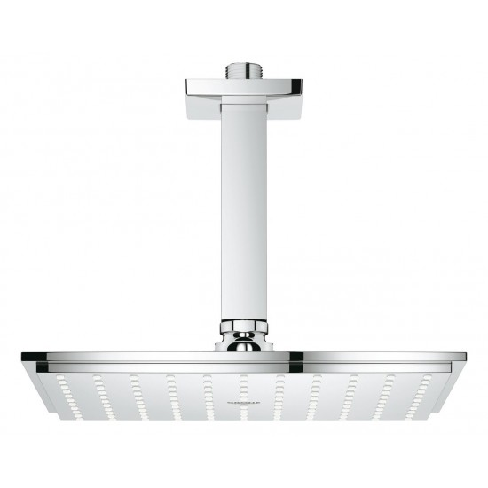 GROHE ALLURE HEAD SHOWER SET CEILING RAINSHOWER 230