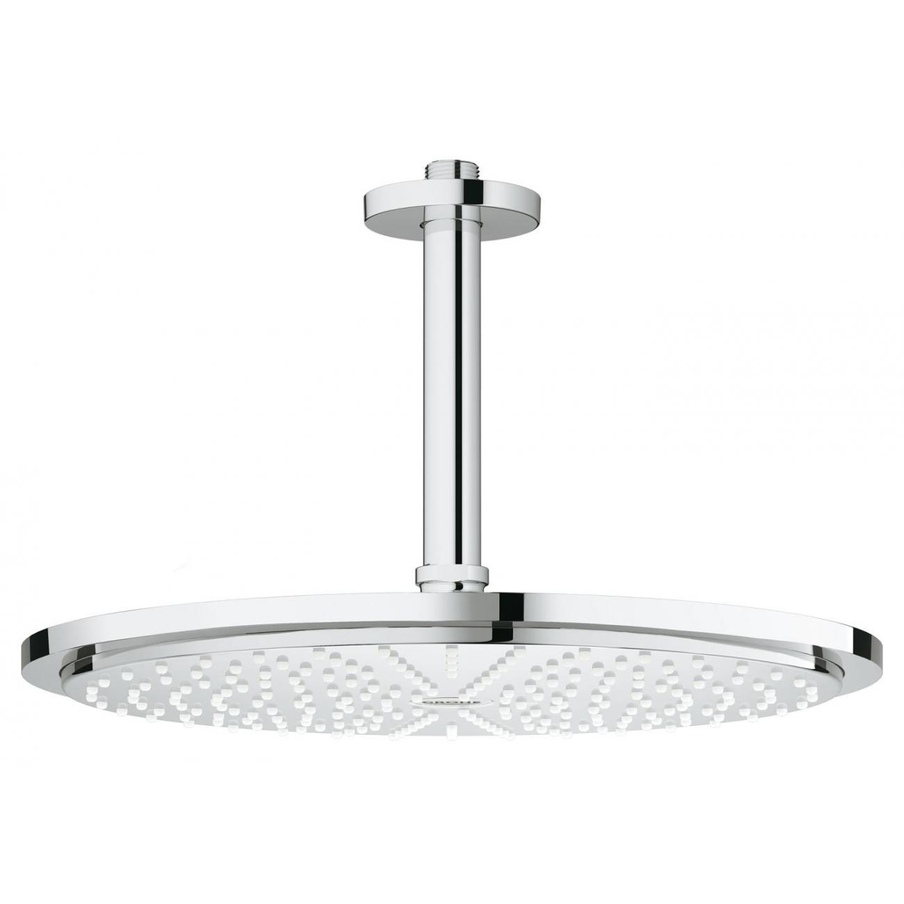 grohe cosmopolitan head shower set ceiling rainshower 310 tattahome. Black Bedroom Furniture Sets. Home Design Ideas
