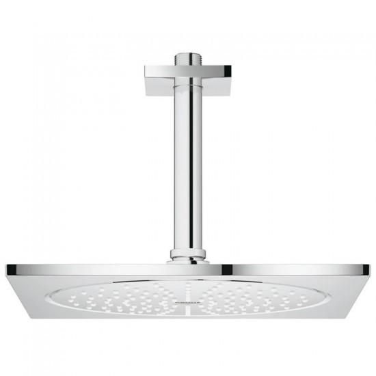 GROHE F-SERIES HEAD SHOWER SET CEILING 254X254